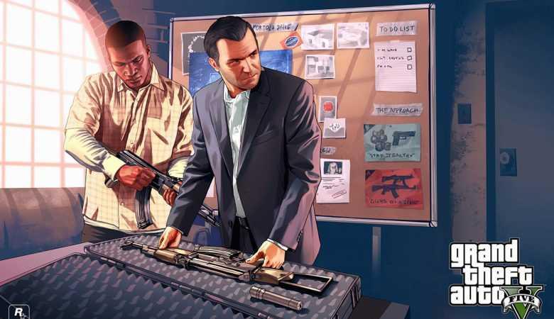 کاور و کدهای تقلب بازی GTA V