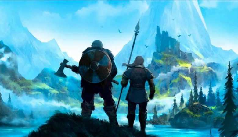 نمایی از محیط بازی Valheim