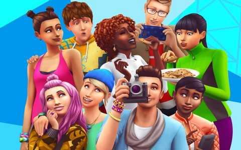رمز بازی Sims 4