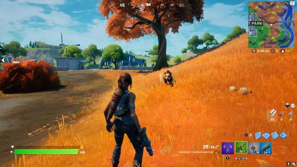 نقشه فصل ششم بازی Fortnite