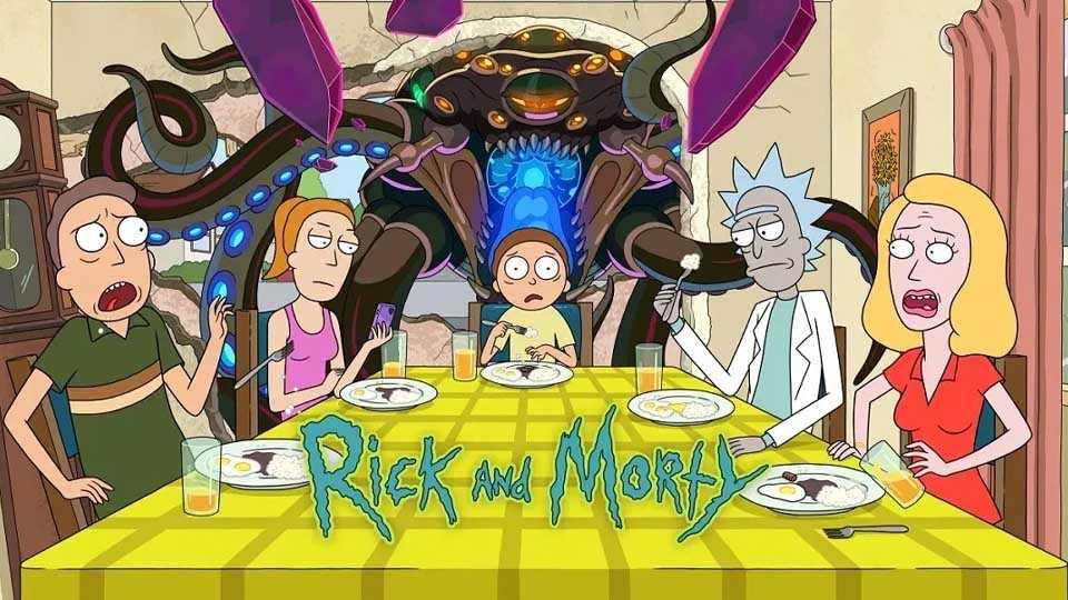 پوستر فصل پنجم سریال Rick and Morty