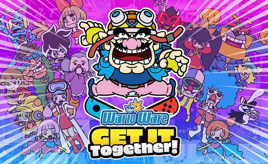 بخشهایی از گیم پلی Co-Op و بازی WarioWare: Get It Together به نمایش گذاشته شد