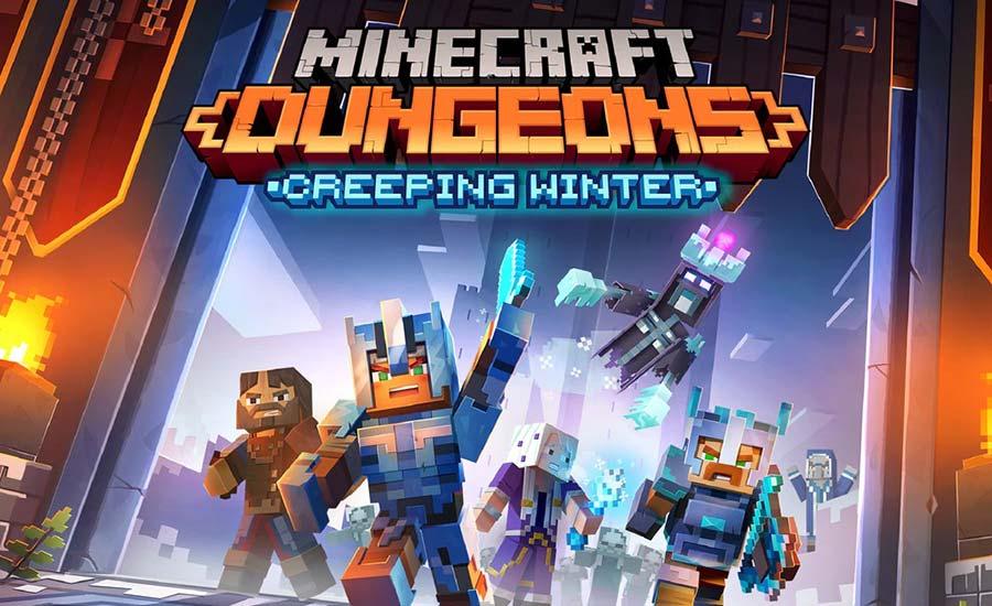 بازی Minecraft Dungeons در استیم منتشر شد