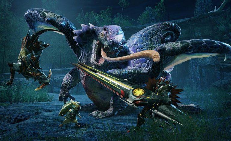 کراس اور بین بازی Monster Hunter Rise و Mega Man 11